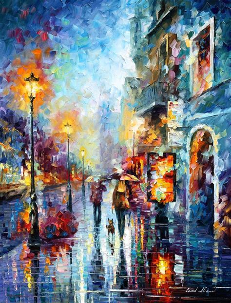 famous wall paintings abstract wall art by famous painter leonid afremov for
