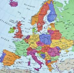 Map Of Europe Today by Europe Map
