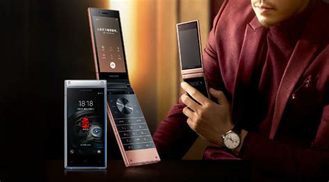 samsung has unveiled the w2019 a high end flip phone with flagship level specifications