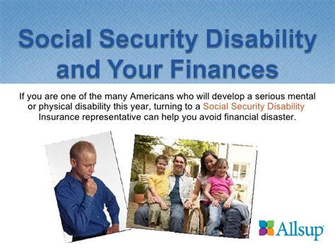 social security disability and your finances
