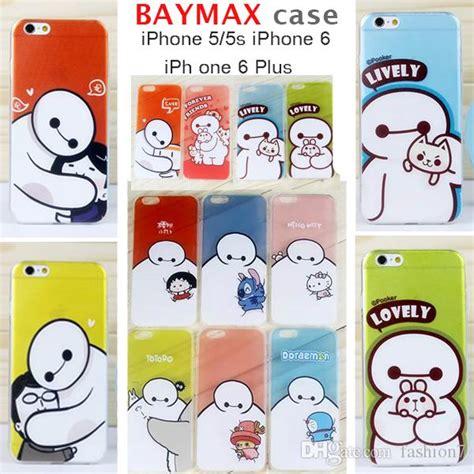 Doraemon X Baymax E0543 Iphone 7 big 6 baymax doraemon transparency soft ultra thin tpu cover for iphone 5 5s