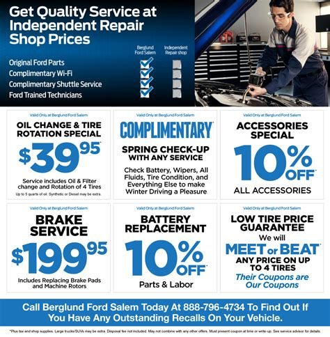 ford service specials available in salem va