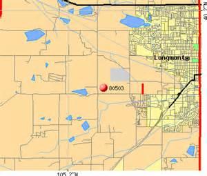 map colorado longmont