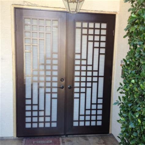 Security Screen Door Installation by Security Screen Doors Illumination Window Door Company