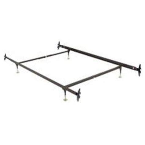 Twin Full Adjustable Hook On Bed Frame With Four Glided Bed Frame With Hooks