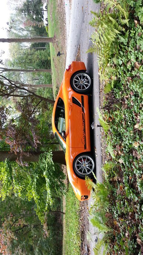 porsche cayman orange 2008 cayman s sport edition gt3 orange rennlist