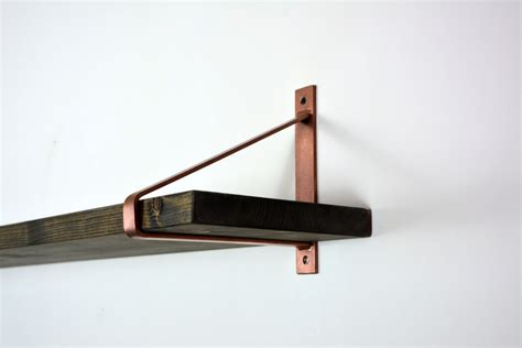pair of copper steel brackets newest design brackets shelf
