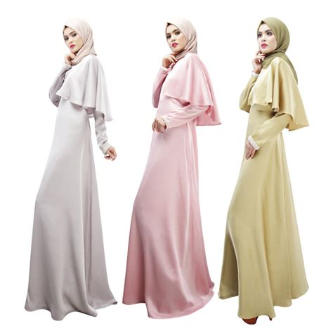Maxi Soft Pink Maxmara Dress Muslim Elegan modest turkish cape dress ideas for muslim