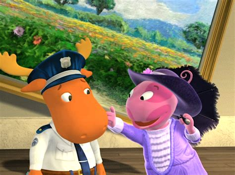 Backyardigans Who Goes There The Is On The The Backyardigans Wiki Fandom