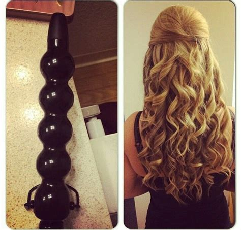 bubble curled short hair best 25 bubble wand curls ideas on pinterest giant
