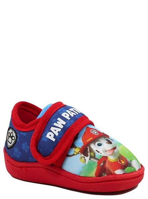 paw patrol slippers paw patrol slippers george at asda
