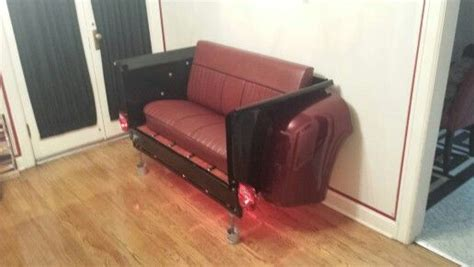 truck couch 55 ford truck bed couch funky ford art pinterest