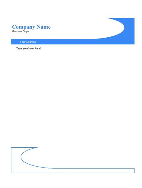 46 Free Letterhead Templates Exles Free Template Downloads Letterhead Template