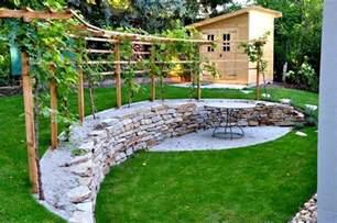treille avec vigne dans votre jardin faire une pergola