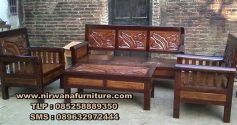 Kursi Tamu Minimalis Jati Sofa Kursi Tamu Lemari Bufet Meja Makan 5 kursi tamu minimalis jati model terbaru desain ruang tamu nirwana furniture mebel jepara