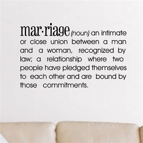 Mmbm definition of marriage