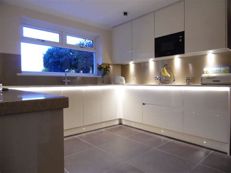 Kitchen Worktop Lights Clarkston Kitchen Design