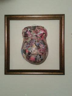 How To Make Paper Mache Belly Cast - photo collages collage collage and collage on