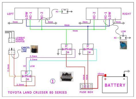 80 series headlight wiring diagram wiring diagram schemes