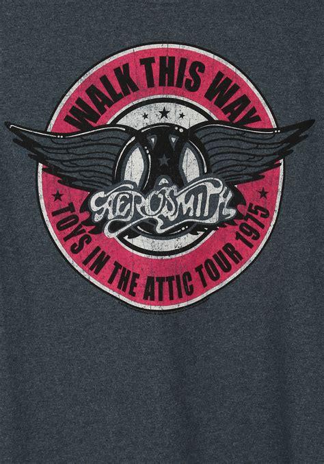 Kaos Walk This Way Run Dmc aerosmith walk this way t shirt
