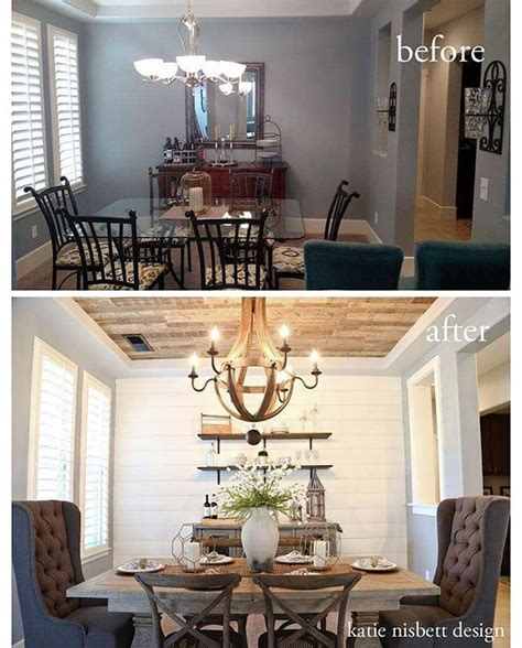 Shiplap Dining Room Wall 1000 Ideas About Dining Room Decorating On