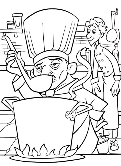 ratatouille coloring pages coloringpages1001 com