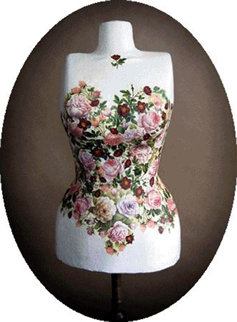 What Is The Difference Between Decopatch And Decoupage - floral mannequin the studio flower