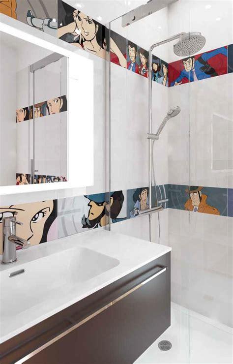 bagni con piastrelle piastrelle di lupin iii per bagno cucina e ambienti pubblici