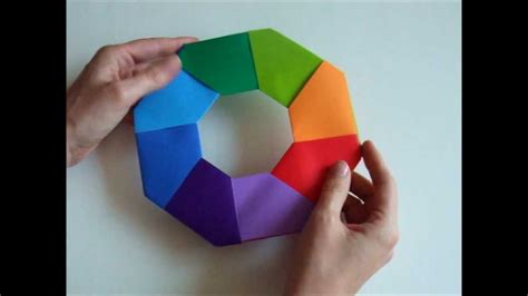 How To Make Transforming Origami - origami modular origami transforming
