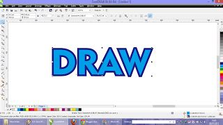 membuat outline text corel draw 2 cara membuat garis tepi outline di coreldraw guru corel
