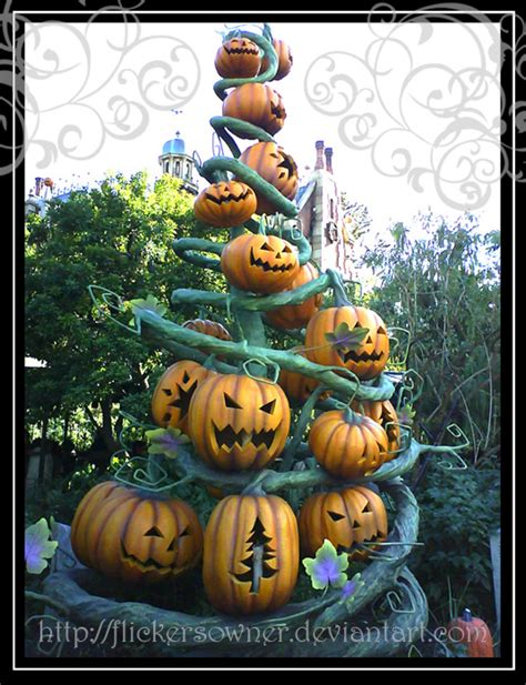 christmas quot pumpkin quot tree by flickersowner on deviantart
