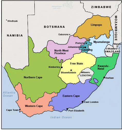 regional map of south africa module twenty nine activity one exploring africa