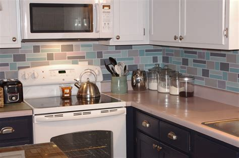 painted kitchen backsplash ideas painted backsplash ideas kitchen do it yourself diy