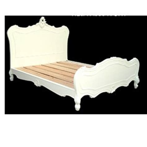 Antique White Bed Frame Antique White 5ft Style King Size Wooden Bed Frame Co Uk Kitchen Home