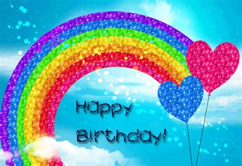 Rainbow Home Decor happy birthday rainbow sparkle