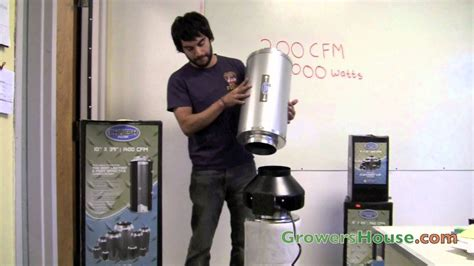 diy inline fan muffler phresh carbon filter duct silencer review activated