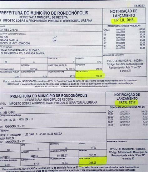 aumento jubilados municipalidad de parana ao 2016 iptu em rondon 243 polis subiu mais de 50 sem autoriza 231 227 o da