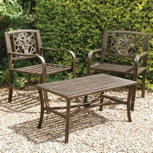 metal outdoor dining table and chairs images