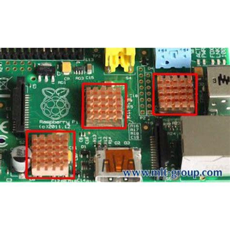 raspberry pi heat sinks copper heat sink for raspberry pi b
