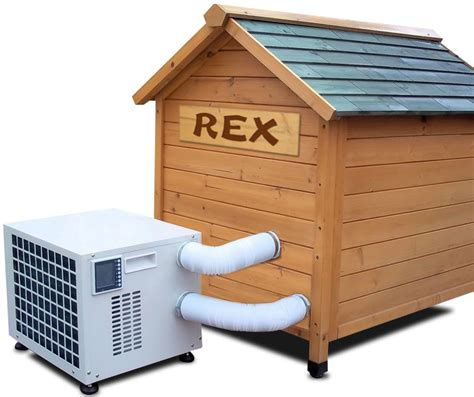 outdoor dog house air conditioner climateright cr2500ach dog house air conditioner and heater