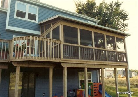 shed roof screened porch two story decks and porches shed roof screen porch and
