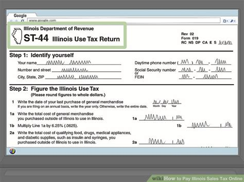 how to pay illinois sales tax 9 steps with pictures