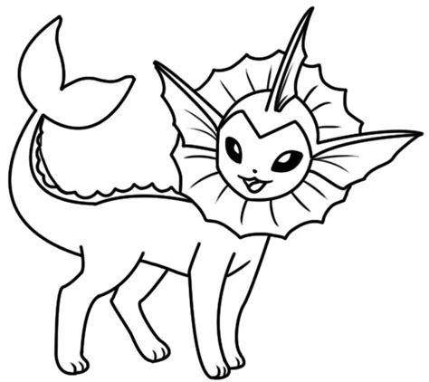 pokemon vaporeon coloring pages coloring book pikachu vaporeon coloring page by bellatrixie white on deviantart