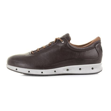 Flatshoes Formal Nf01 Mocca mens ecco cool exhale gtx lace mocca lace up casual