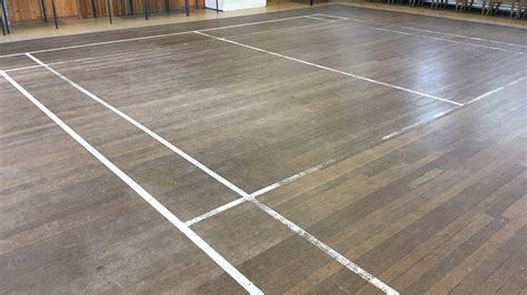 wood floor restoration st michaels village hall renue uk specialist renovation