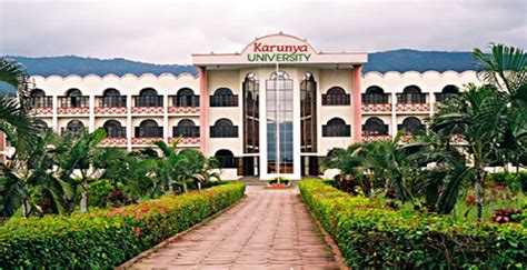 Mba Admission 2017 In Coimbatore by Karunya School Of Management Karunya Ksm
