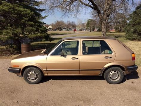 volkswagen golf 1985 beautiful 1985 volkswagen vw golf diesel 5 speed manual