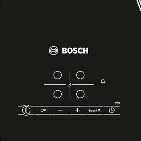 bosch induction hob lewis buy bosch pia611b68b induction hob black glass lewis