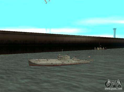 cheat code for boat in gta san andreas torpedo boat type g 5 for gta san andreas