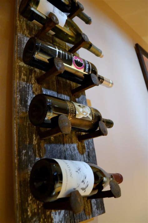 diy ways  create   unique wine rack iwfs blog
